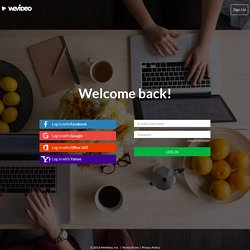 Login - WeVideo