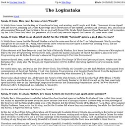 The Loginataka: Dialogue between a Guru and a Newbie