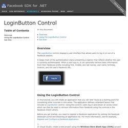LoginButton Control
