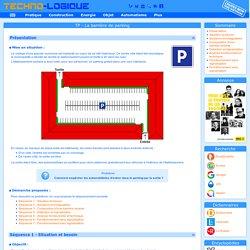 Techno-logique - TP. Barrière de parking (Automatisme)