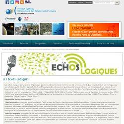 Les échos-logiques - Observatoire des Sciences de l'Univers - Institut Pythéas