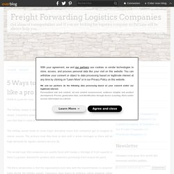 5 Ways to plan logistics planning like a pro for the holiday season
