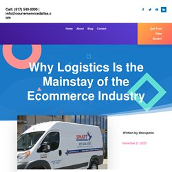 Logistics Service Is The Mainstay of the Ecommerce Industry