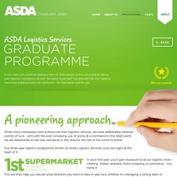 ASDA Logistics Services : Asda Graduates
