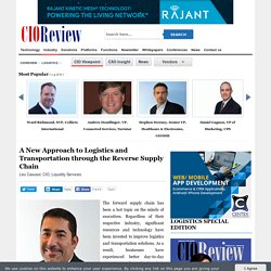 A New Approach to Logistics and Transportation through the Reverse Supply Chain