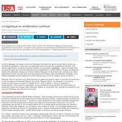 La logistique en amélioration continue - Dossiers LSA Conso