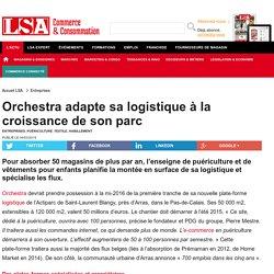 Orchestra adapte sa logistique à la... - Textile, habillement