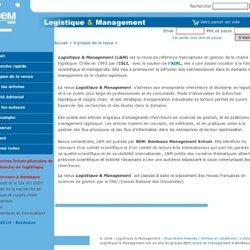 Logistique & Management