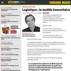 Logistique : le modèle humanitaire