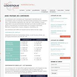Club Logistique Le Havre » Guide pratique des conteneurs