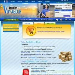 Une boite postale pour vos colis avec une logistique relais de réception et réexpédition