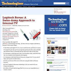 Google TV: A Swiss-Army Approach to Internet TV