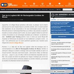 Logitech MX Air gyroscopique _ Windows/LinuxMint17