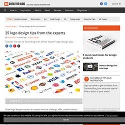 Logo design: 60 pro tips