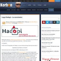 Logo Hadopi – La conclusion