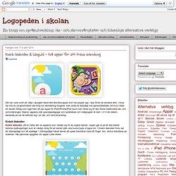 Knäck läskoden & Läsguld - två appar för att träna avkodning