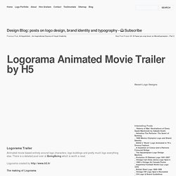 Logorama Animated Movie Trailer by H5