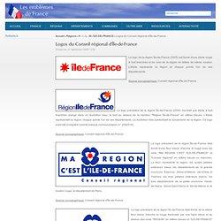 Logos du Conseil régional d'Île-de-France