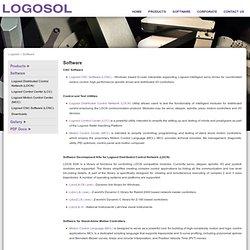 Logosol Robots, Prealigners, CNC, Servo, Stepper, Motion Control