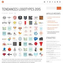 Logos, logotypes et tendances graphiques 2015