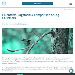 Fluentd vs. Logstash: A Comparison of Log Collectors