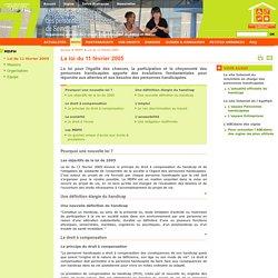 Loi du 11 février 2005 - Site de la MDPH 77