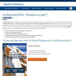 Loi Censi-Bouvard 2016 : Arnaque ou pas ?