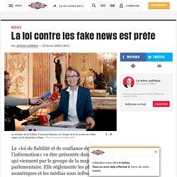 La loi contre les fake news est prête