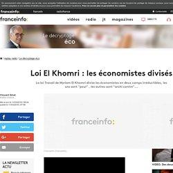 Loi El Khomri : les économistes divisés