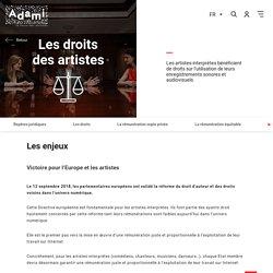 Loi Liberté de création - Adami