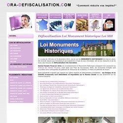 LOI MONUMENT HISTORIQUE 2016