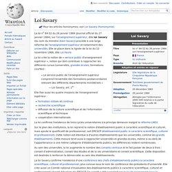 Loi Savary