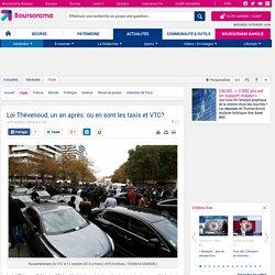Loi Thévenoud, un an après: où en sont les taxis et VTC?