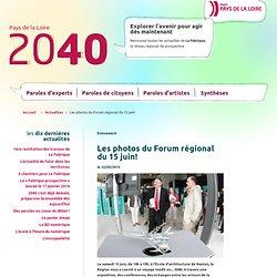 Pays de la Loire 2040 – Les photos du Forum régional du 15 juin!