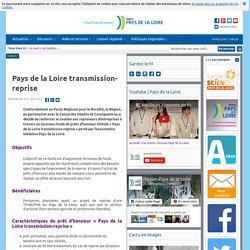 Pays de la Loire transmission-reprise
