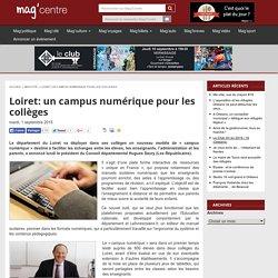 Loiret: un campus numérique pour les collèges