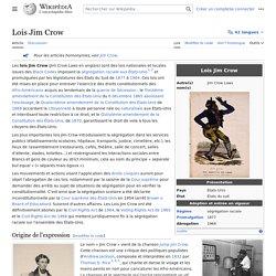 Lois Jim Crow