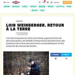 Lois Weinberger, retour à la terre