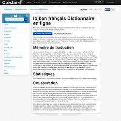 Lojban-Français Dictionnaire, Glosbe