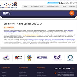 Lok'nStore Trading Update