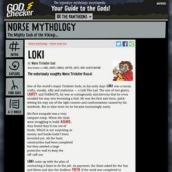 LOKI - the Norse Trickster God (Norse mythology)