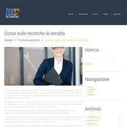 Corso sulle tecniche di vendita a Milano e in Regione Lombardia