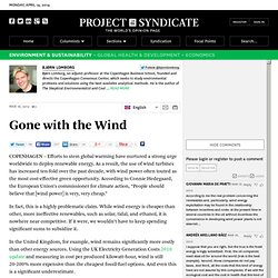 """Gone With the Wind"" by Bjørn Lomborg"