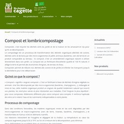 Compost et lombricompostage