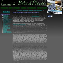 Bits & Pieces | Workshop / BildaufbauUnterrichten