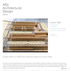 MSc Architectural Design