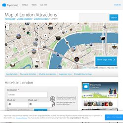 Map of London Attractions