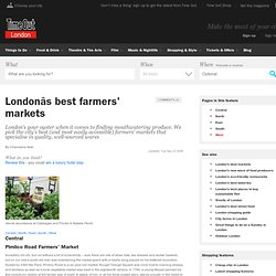 London's Best Farmers' Markets