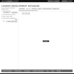 London Development Database (v2.01b)