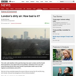 London's dirty air: How bad is it?